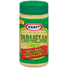 Kraft Parmesan Cheese 100 and Grated