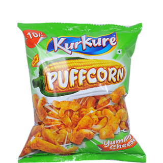 Kurkure Puffcorn Yummy Cheese Namkeen