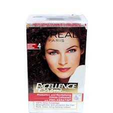 LOreal Excellence Cream Natural Dark Brown 4 Hair Colour