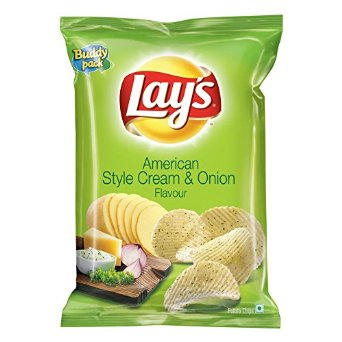 Lays American Style Cream and Onion Flavour