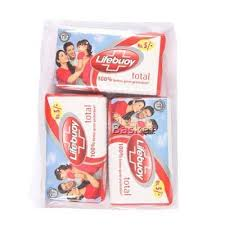 Lifebuoy Bathing Soap Total 90 gm Carton Pack of 3