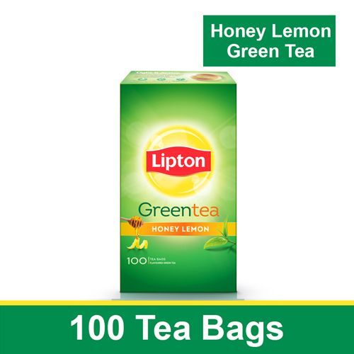 Lipton Green Tea Bags Honey Lemon