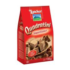 Loacker Bite Size Wafer Cookies Quadratini Napolitaner