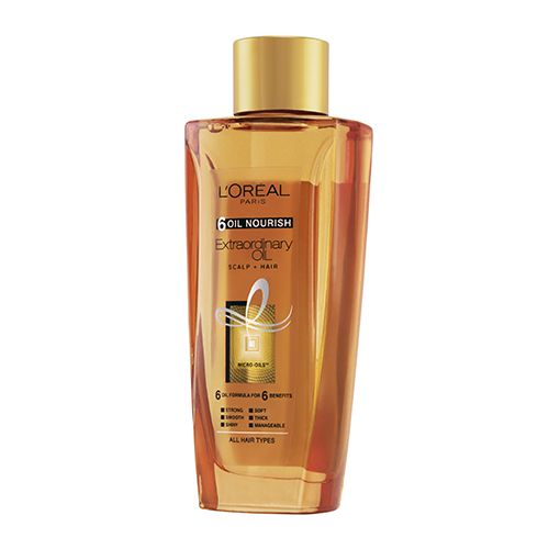 Loreal Paris 6 Oil Nourish Extraordinary Oil Scalp Plus Hair