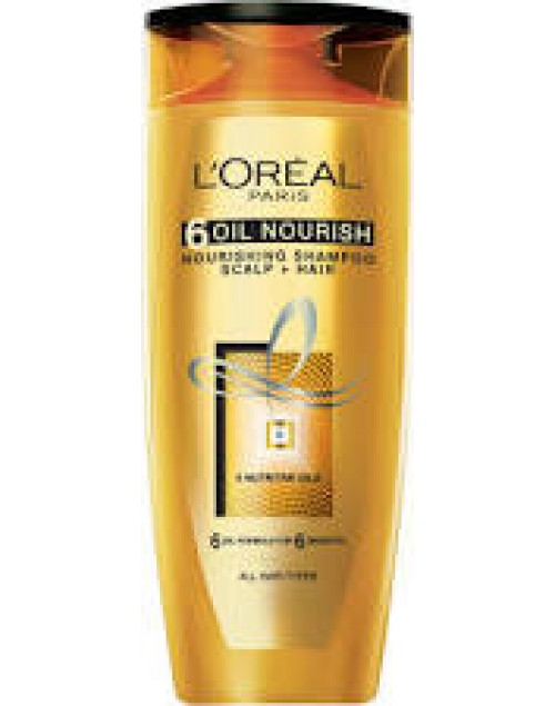 Loreal Paris 6 Oil Nourish Nourishing Shampoo Scalp Plus Hair