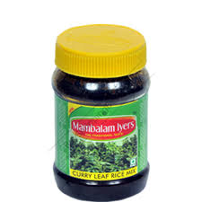 Mambalam Iyers Mix Curry Leaf Rice