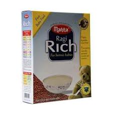 Manna First Baby Food  Ragi Rich for Bonnie Babies