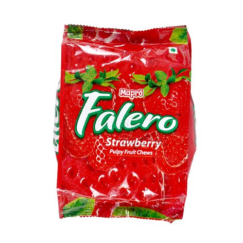 Mapro Falero Pulpy Fruit Chews Strawberry
