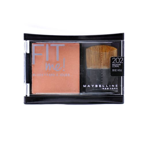 Maybelline Fit Me Blush Medium Coral 202 4 Point 5GM