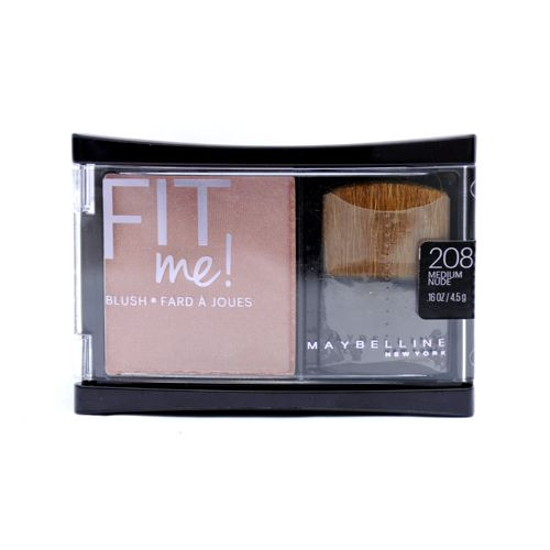 Maybelline Fit Me Blush Medium Nude 208 4 Point 5GM