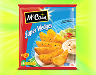 McCain Crispy Herb Coated Potatoes Super Wedges