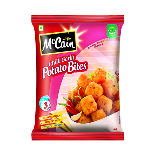 McCain Crunchy Potato Nuggets Chilli Garlic Potato Bites