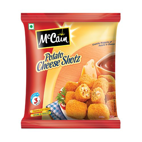 McCain Potato Cheese Shotz Crunchy Nuggets of Potateos and Cheese