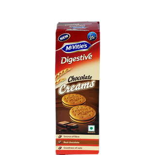 McVities Digestive Chocolate Creams Biscuit