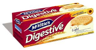 Mc Vities Digestive Light Reduced Fat Wheat Biscuits