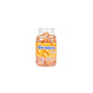 Mentos Chewy Dragees Orange Flavour