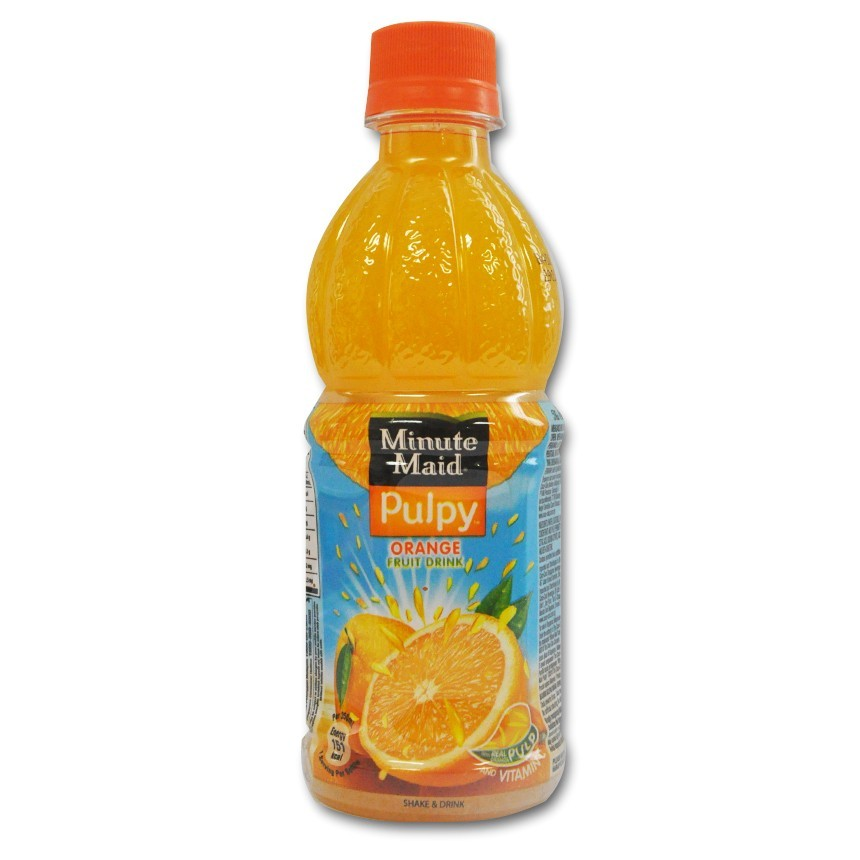 Minute Maid Fruit Drink Pulpy Orange