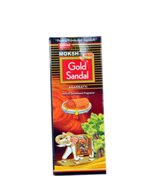 Moksh Gold Agarbatti  Sandal Natural Sandalwood Fragrance
