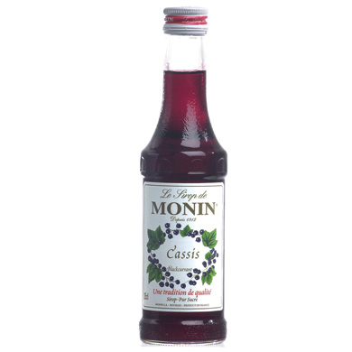Monin Syrup Blackcurrant Flavored
