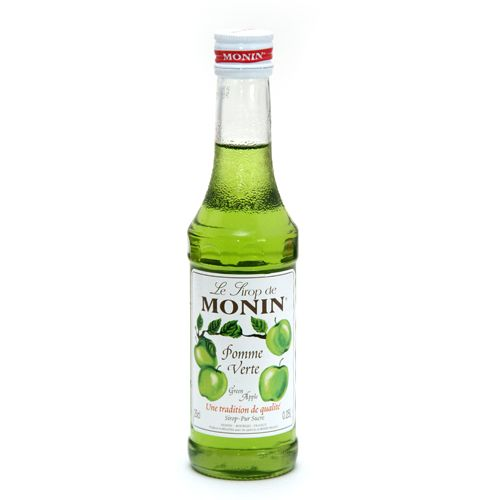 Monin Syrup Green Apple Flavored
