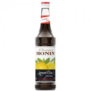 Monin Syrup Lemon Tea With Natural Extracts