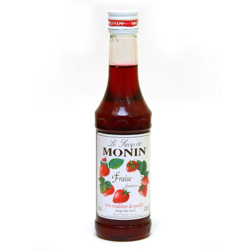 Monin Syrup Strawberry Flavored