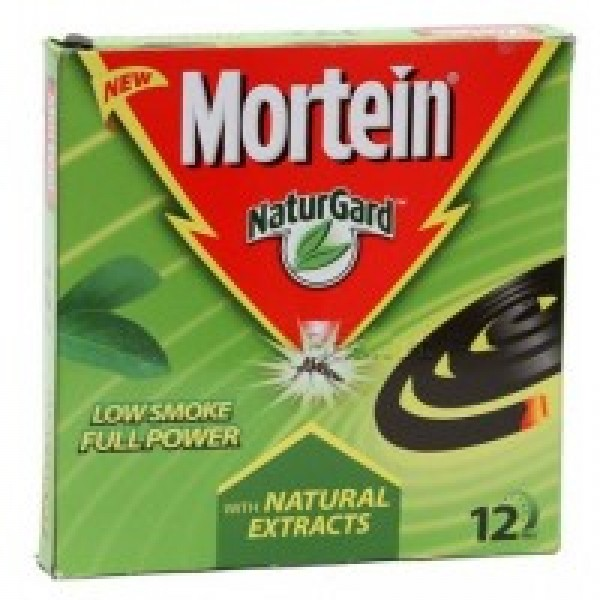 Mortein NaturGard with Natural Extracts Low Smoke Full Power