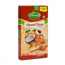 Naturals Energy Bar Almond Fiesta Natural Sweetness of Honey