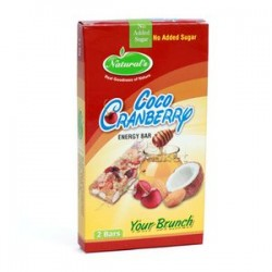 Naturals Energy Bar Coco Cranberry Your Brunch