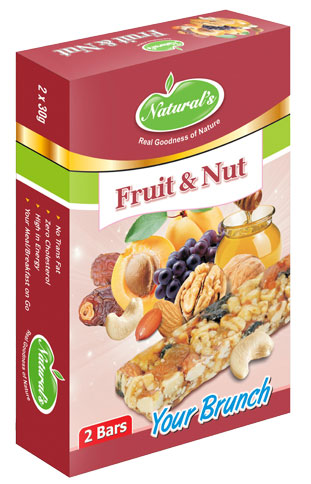 Naturals Energy Bar Fruit and Nut Natural Sweetness of Honey