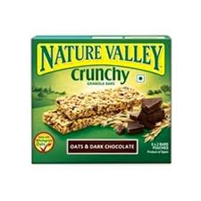 Nature Valley Crunchy Oats and Dark Chocolate Bars