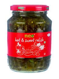 Neo Hot and Sweet Relish