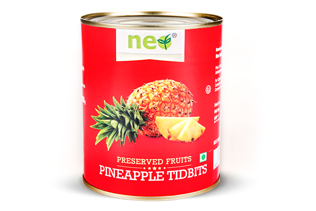 Neo Pineapple Tidbits