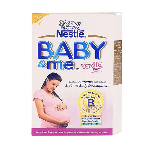 Nestle Baby and Me Maternal Nutritional Supplement Vanilla