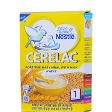 Nestle Cerelac Fortified Baby Meal With Milk Wheat 1 Stage