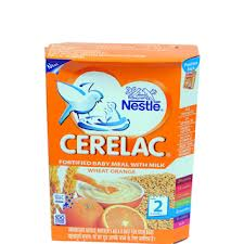 Nestle Cerelac Fortified Baby Meal With Milk Wheat Orange 2 Stage