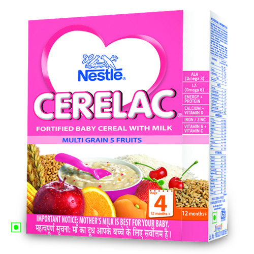 Nestle Cerelac Multi Grain 5 Fruits Stage 4