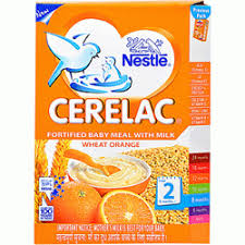 Nestle Cerelac Wheat Orange Stage 2