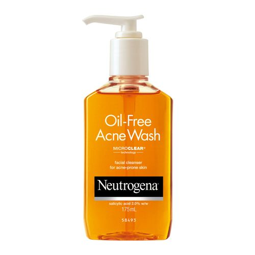 Neutrogena Facial Cleanser Oil Free Acne Wash