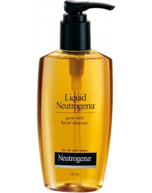 Neutrogena Facial Cleanser Pure Mild All Skin Types