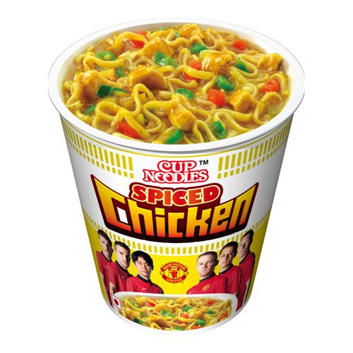 Nissin Cup Noodles Spiced Chicken