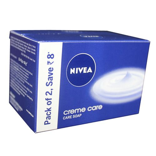 Nivea Bathing Soap Creme Care Pack of 2