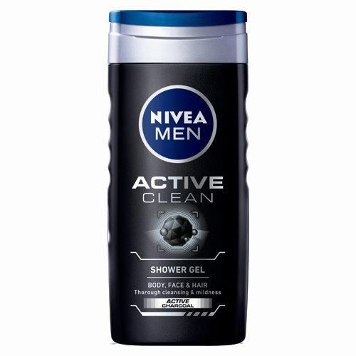 Nivea Shower Gel Active For Men