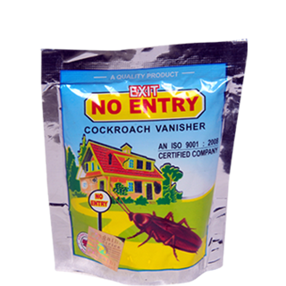 No Entry Cockroach Vanisher
