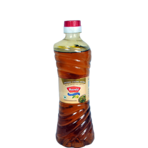 Nutrela Mustard Oil Filtered