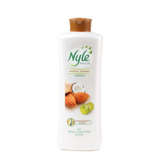 Nyle Hair Fall Defence Shampoo Badam Coconut Milk and Amla