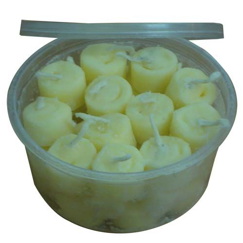 Om Bhakti Ghee Batti Ready To Light Diya Big Pack of 30