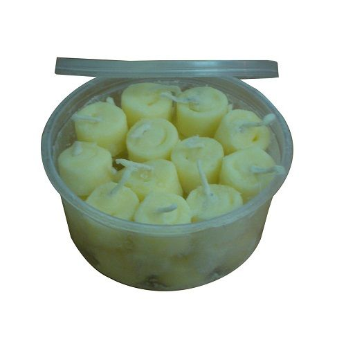Om Bhakti Ghee Batti Ready To Light Diya Small Pack of 30