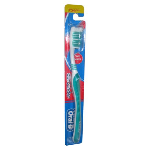 Oral B Tooth Brush All Rounder Cavity Defense 123 Soft
