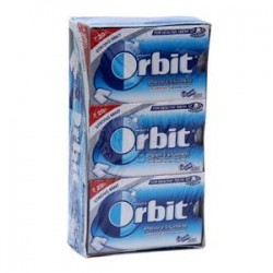 Orbit Sugarfree Chewing Gum White Sweet Mint